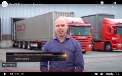 Van Dijk inspiratiebron voor Topsector Logistiek Off-Road Rally 2020